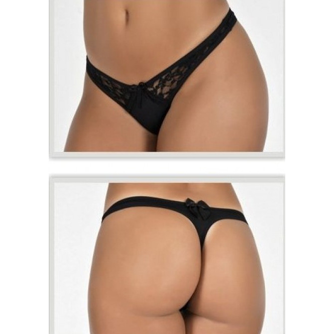 3307 - Tanga Romantic C Renda - M, LEVE 5 PAGUE 4