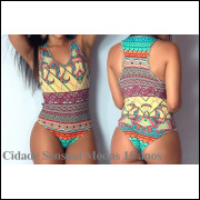 Body Feminino Regata  Cavado Collant Moda